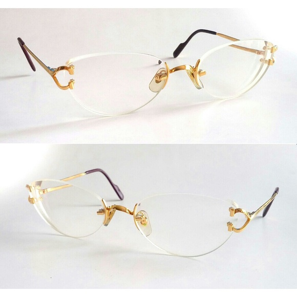 7d3e049c163b Cartier Other - Authentic Cartier Gold C-Decor Glasses Frames